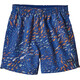 Patagonia Babies Baggies Shorts Plankton Punch: Superior Blue